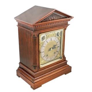 Walnut Cased Mantel Clock