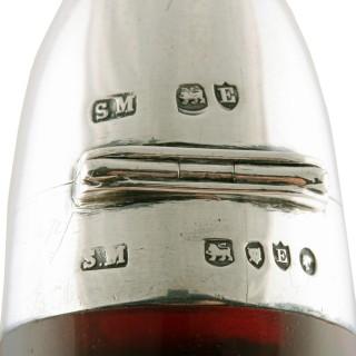 Sampson Mordan Ruby Perfume Bottle