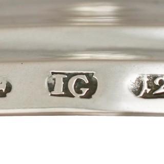 Baltic Silver Candlesticks - Antique Circa 1830