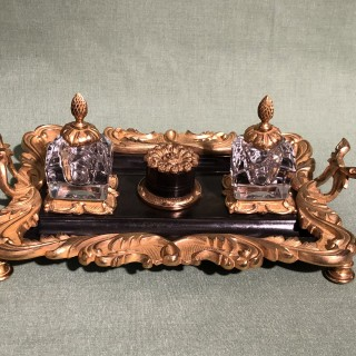 Early 19th Century Bronze and Ormolu Pentray