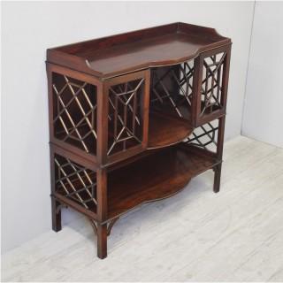 Cockpen Style Mahogany Cabinet