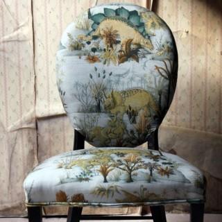 A George III Ebonised & Upholstered Salon/Side Chair c.1780