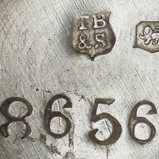 Sterling Silver Five Light Candelabra - George I Style - Antique George V