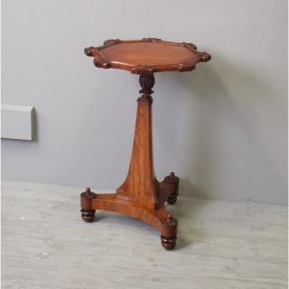 Victorian Mahogany Octagonal Occasional Table