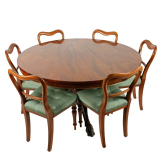 Victorian Mahogany Breakfast Table