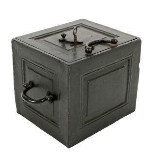 Victorian Iron Strong Box