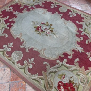 Aubusson Tapestry rug, France