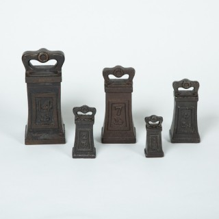Five Iron Imperial Weights