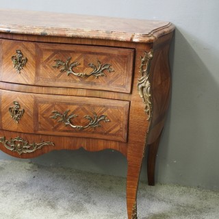 Louis XV Style Marble Top Commode