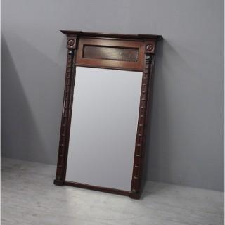 Regency Mahogany Pier Mirror