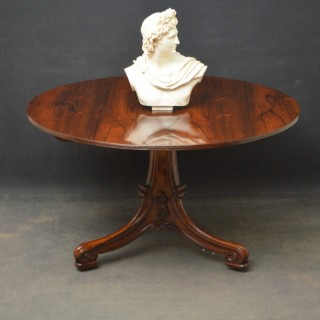 William IV Rosewood Centre or Dining Table
