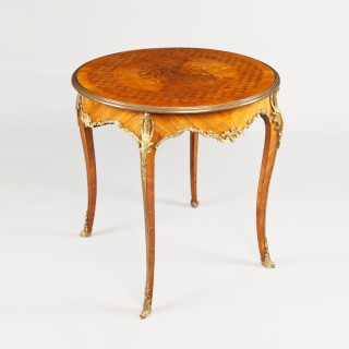 A Good Centre Table in the Louis XVth Manner