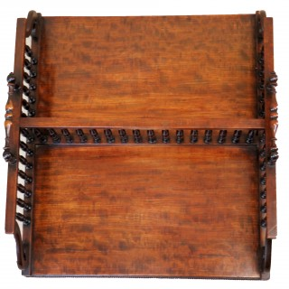 Regency Mahogany Desktop Book Stand English