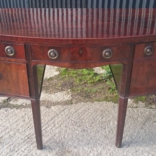 Large 18th Century George III Period Mahogany Sideboard