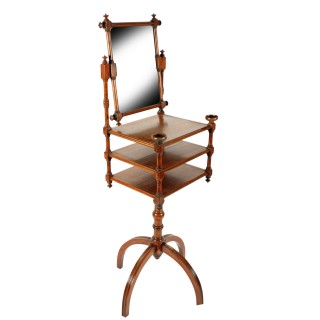 19th Century Walnut Dressing Stand
