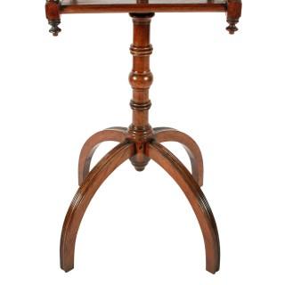 19th Century Walnut Dressing Stand