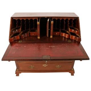 18th Century Chippendale Mahogany Bureau