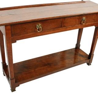 Arts & Crafts Oak Side Table
