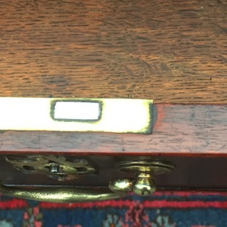 Antique Mahogany Georgian Writing Table, Desk