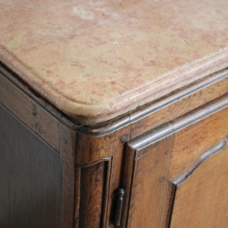 18th Cent French Buffet with an extraordinary Thick Marble