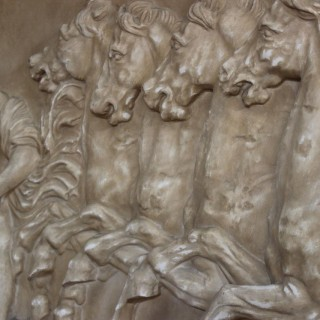 Mid 20th cent Plaster Panel