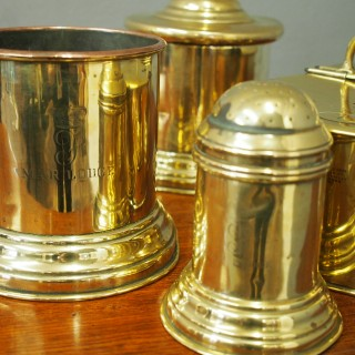 Set of 4 Brass and Copper Utensils from Mar Lodge