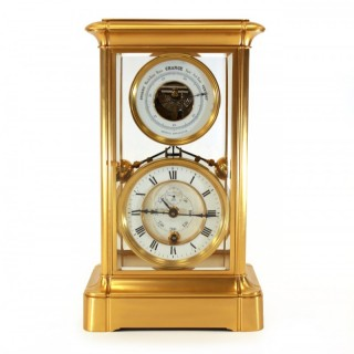 Year Duration Equipoise Pendulum Mantel Clock