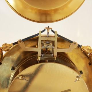 Year Duration Equipoise Pendulum Mantel Clock