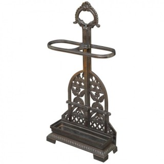 Exceptional Coalbrookdale Cast Iron Umbrella stand