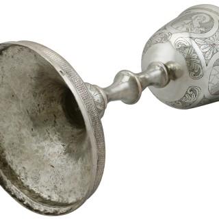 Russian Silver Chalice - Antique Circa 1900