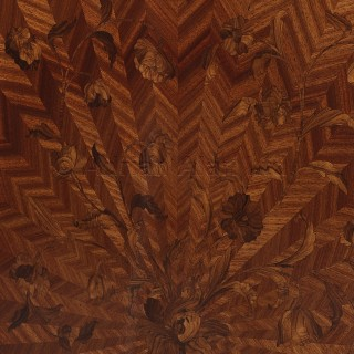 A Louis XVI Style Marquetry Side Cabinet
