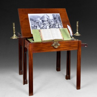 A very fine Chippendale Period Mahogany Architect's Table