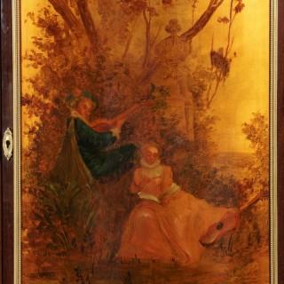 A Pair of Napoleon III Meubles d'Entre-Deux