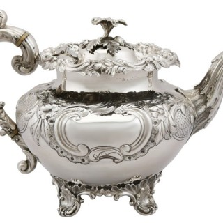 Sterling Silver Teapot - Antique Victorian (1838)