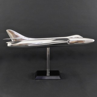 Cast Aluminium Hawker Hunter Aircraft Model