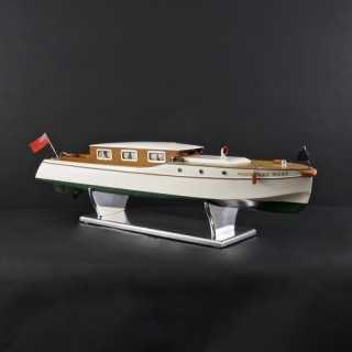 Rare Clockwork Model River Boat