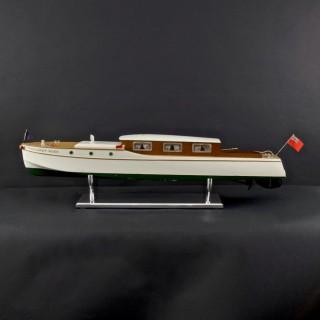 Rare Clockwork Model River Boat