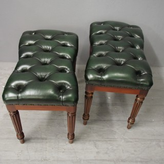 Pair of Converted Bidets from Alnwick Castle