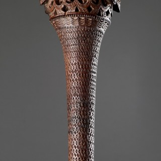 Austral Islands Exceptionally Tall Ceremonial Paddle