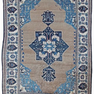 Rare early Antique Heriz rug