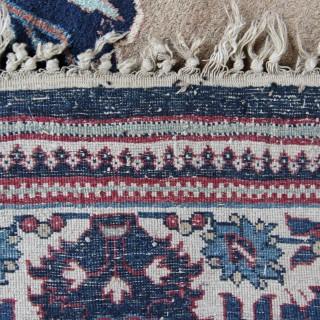 Rare early Antique Heriz rug