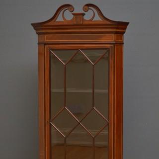 Edwardian Corner Cupboard