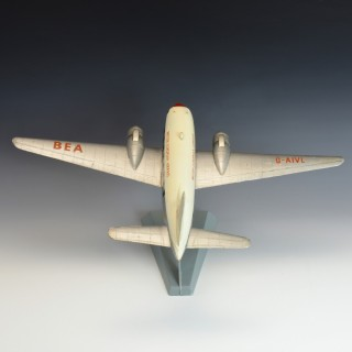 Model Vickers Viking Airplane
