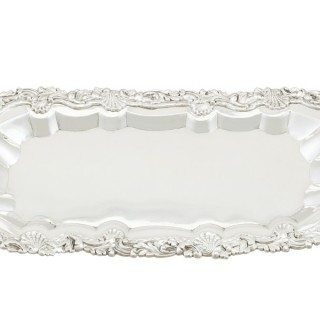 Sterling Silver Snuffer Tray - Antique George III (1818)