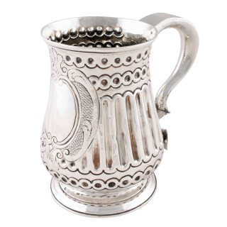 18th Century Sterling Silver Tankard