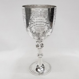 Victorian Silver Cup