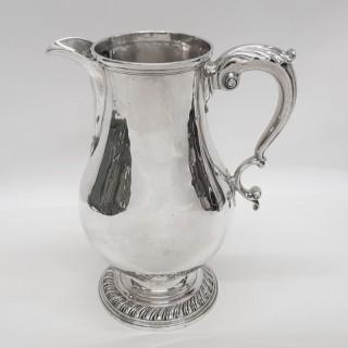 George III Silver Beer Jug