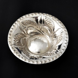 A Charles Ashbee for the Guild of Handicraft silver bowl