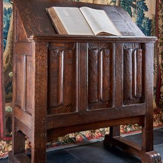 Gothic scriptorium desk