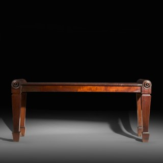 Regency Hall Bench or Long Stool to a design by C.H. Tatham